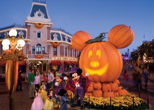 Halloween Season at Disneyland