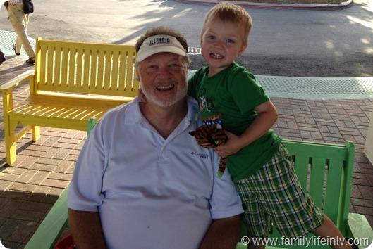 """""""Grandpa"""" """"Grandson"""" """"Florida"""" """"Family Picture"""""""
