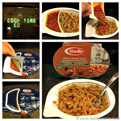"""Pasta"" ""Microwavable Dinners"" ""Barilla Pasta"" ""Quick Dinner"""