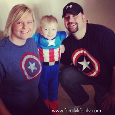 Captain America Family