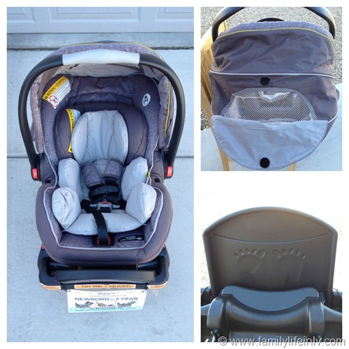 """Graco Snugride 40"" ""Graco Snugride Click Connect 40"" ""Graco Car Seat"" ""Car Seat Review"" ""Rear-Facing Infant Car Seat"""