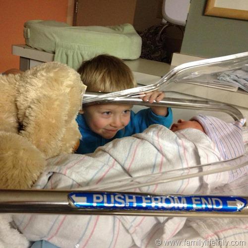 """Newborn"" ""Baby Brother"" ""Big Brother"" ""First Glance"""