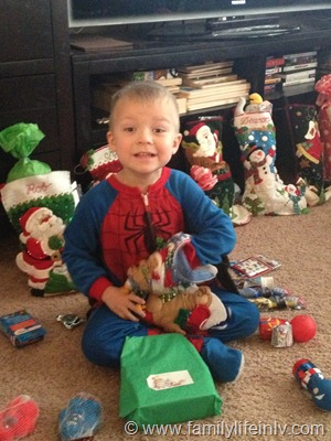 """Christmas"" ""Family"" ""Family Holiday"" ""Stockings"" ""Christmas Tree"" ""Santa"" ""Spiderman"""