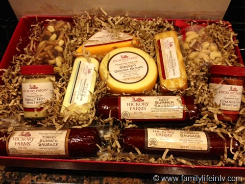 """""""Hickory Farms Gift Box"""" """"Hickory Farms"""" """"Party Food"""" """"Summer Sausage"""""""