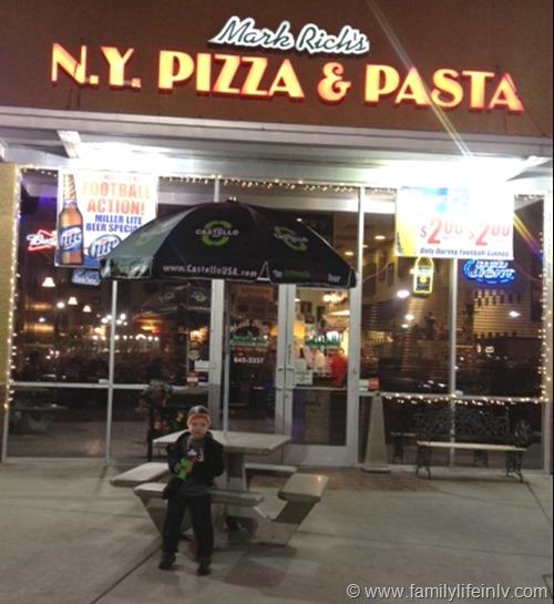 """Las Vegas Dining"" ""Restaurant.com"" ""Pizza"" ""Las vegas Food"" ""Mark Rick's"""