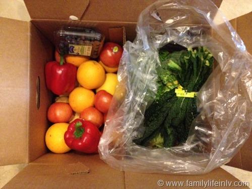 Bountiful Basket Produce