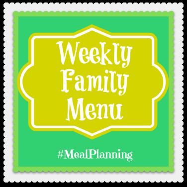 """Meal Planning"" ""Family Menu Plan"" ""Food"""