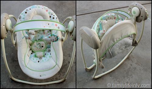 """Comfort & Harmony Portable Swing"" ""Bright Starts"" ""Baby Swing"" ""Portable Swing"" ""Baby Gear"""