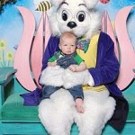 Squishapillar Meets the Easter Bunny!
