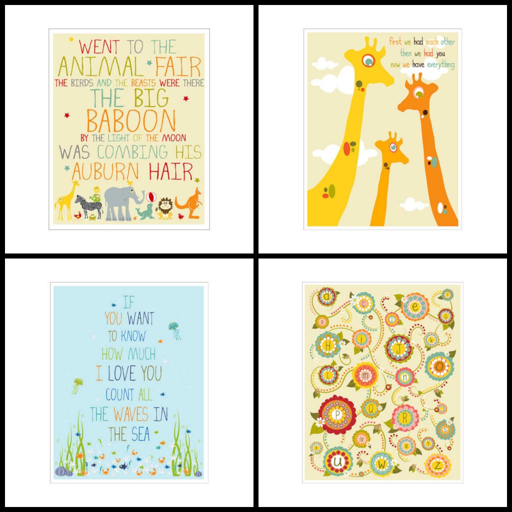 """""""Whimsical Nursery"""" """"Nursery Art"""" """"Baby Nursery"""""""