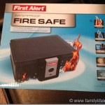 Keep Your Life Safe with First Alert Security Chest #Giveaway