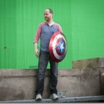 Behind the Scenes photos from the set of Marvel's The Avengers