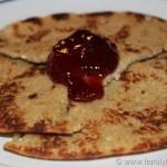 Whole Wheat Swedish Almond Pancakes #SilkAlmond