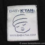 Babywearing with Baby K'tan