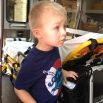Trucks and Toddlers a match made in heaven! {Photo Story}