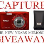 CAPTURE THE NEW YEAR MEMORIES Nikon Coolpix GIVEAWAY