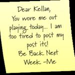 Post it Tuesday Fail!