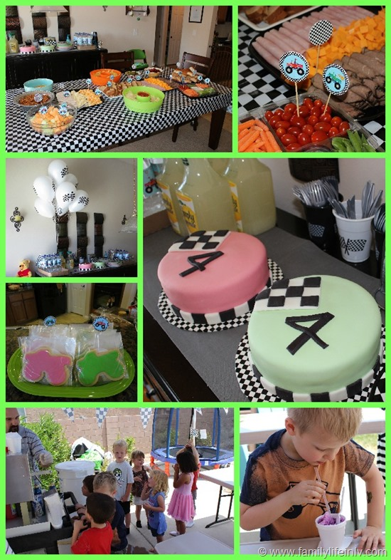 Monster Truck Birthday Party Food