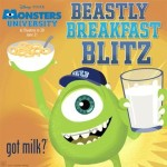 Sick of Candy Crush Saga? Try Beastly Breakfast Blitz from MONSTERS UNIVERSITY