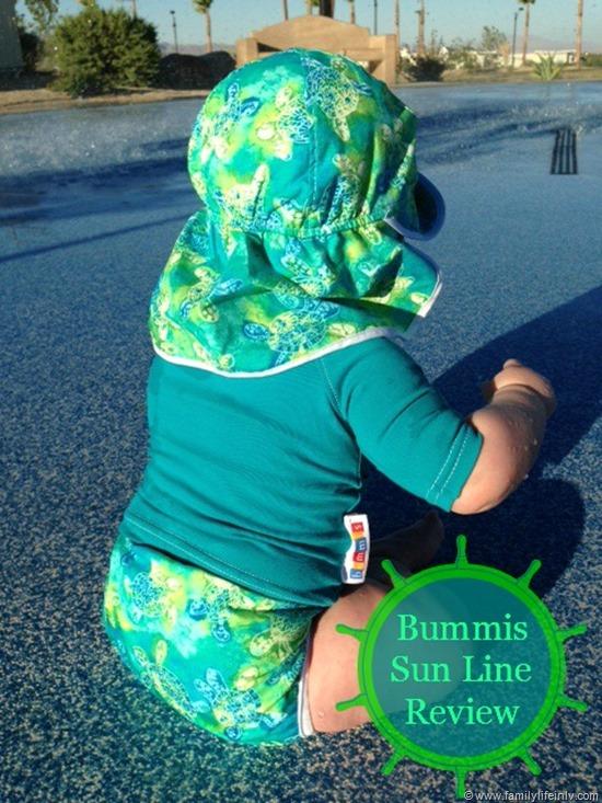 """Bummis"" ""Bummis Sun Line"" 'Bummis Review"" Swim Diaper"" ""Baby Sun Protection"""