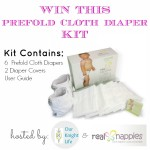 Prefold Cloth Diaper Prize Package from Real Nappies! #Giveaway #ClothDiapers (US ONLY)