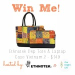 Ethnotek Dep Laptop Bag Giveaway (US ONLY)