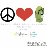 lillebaby COMPLETE baby carrier #Giveaway #Babywearing
