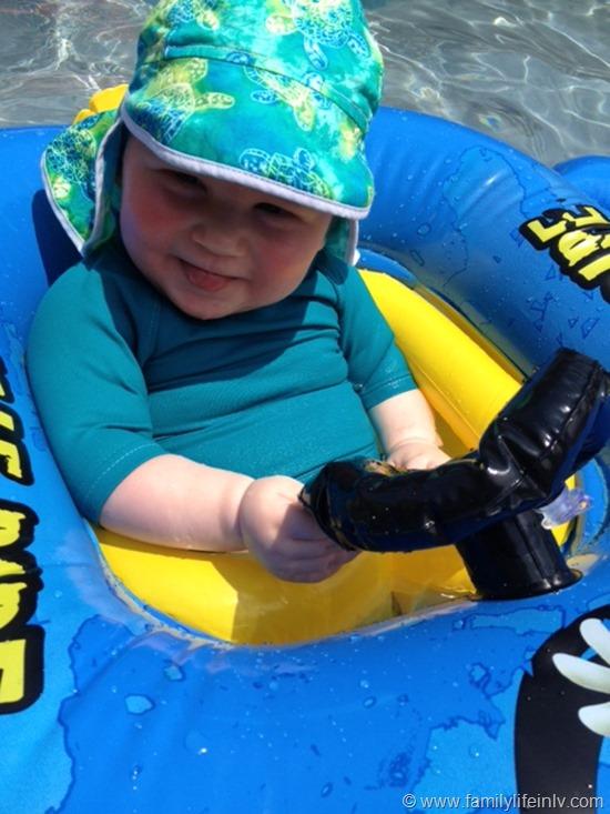"""Swimming"" ""Bummis Swim Suit"" ""Baby"" ""Pool"""