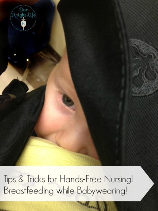 Breastfeeding in a Beco Carrier