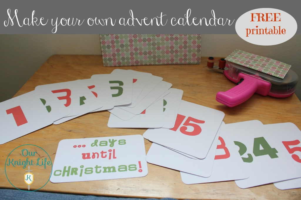 """""""Make Your Own Advent Calender"""" """"Advent Calender"""" """"Christmas Countdown"""" """"Christmas Crafts"""" """"Free Printable"""" """"Printable Advent Calendar"""""""