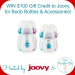 Win $100 in Boob Bottles and Accessories from Joovy!