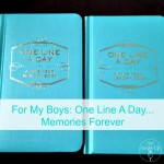 One Line A Day: 5 Year Memory Books For My Children