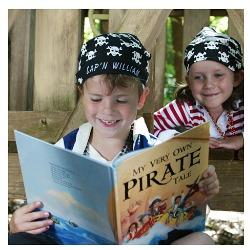 """Pirate Book"" ""I See Me Pirate Gift Set"""