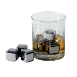 """""""Whiskey Ice Cubes"""" """"Stainless Steal Gift Cards"""""""