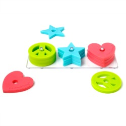 """""""Chewbeads Stacker Toy"""" """"Stacker Toy for baby"""""""