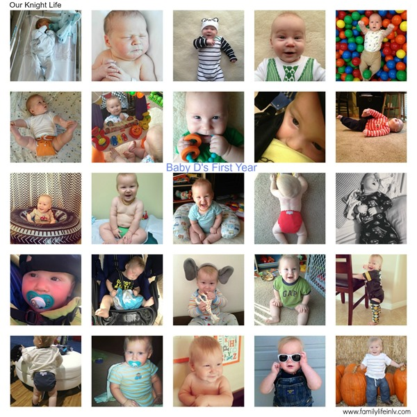 """""""baby's first year pictures"""" """"Picture collage"""" """"Baby picture collage"""""""