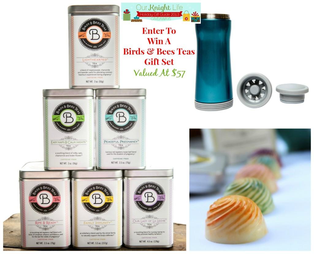 """Holiday Giveaway"" ""Birds & Bees Teas"" ""Tea"" ""Pregnancy Tea"" ""Lactation Tea"""