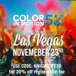 Las Vegas Color In Motion 5K November 23rd {Discount Code Included}
