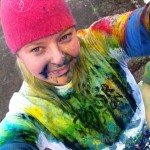 My First 5K Race: Las Vegas Color In Motion (Wordfilled Wednesday)