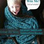 Holiday Gift Guide: Saranoni Toddler/Teen Swirl/Lush Blanket Review & Giveaway (US Only) #OKLHolidayGifts