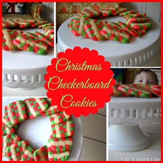 Christmas Checkerboard Cookie Recipe