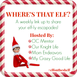 Elf On The Shelf Shenanigans Week 2 | Link Up #ElfOnTheShelf
