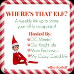 Elf on the Shelf Shenanigans | Week 3 Link Up #ElfOnTheShelf