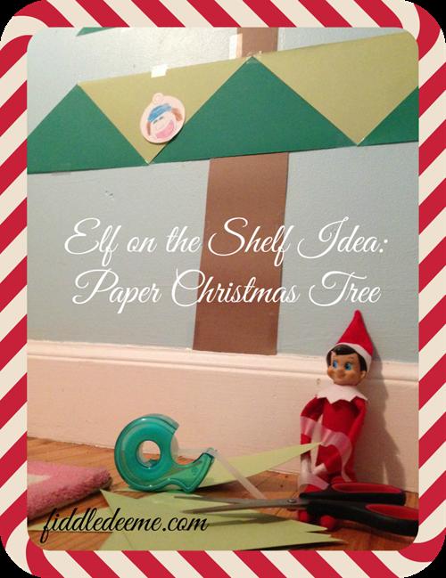 Elf on the shelf Craft