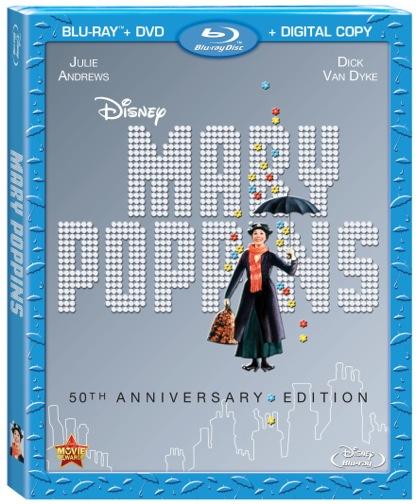 """""""Mary Poppins"""" """"Mary Poppins DVD"""" """"Mary Poppins 50th Anniversary edition"""""""