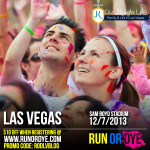 Run Or Dye Las Vegas 5k