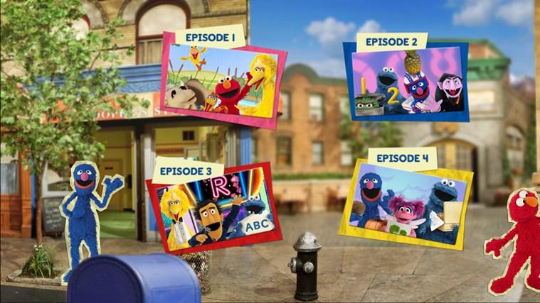 Sesame Street Touch & Learn TV