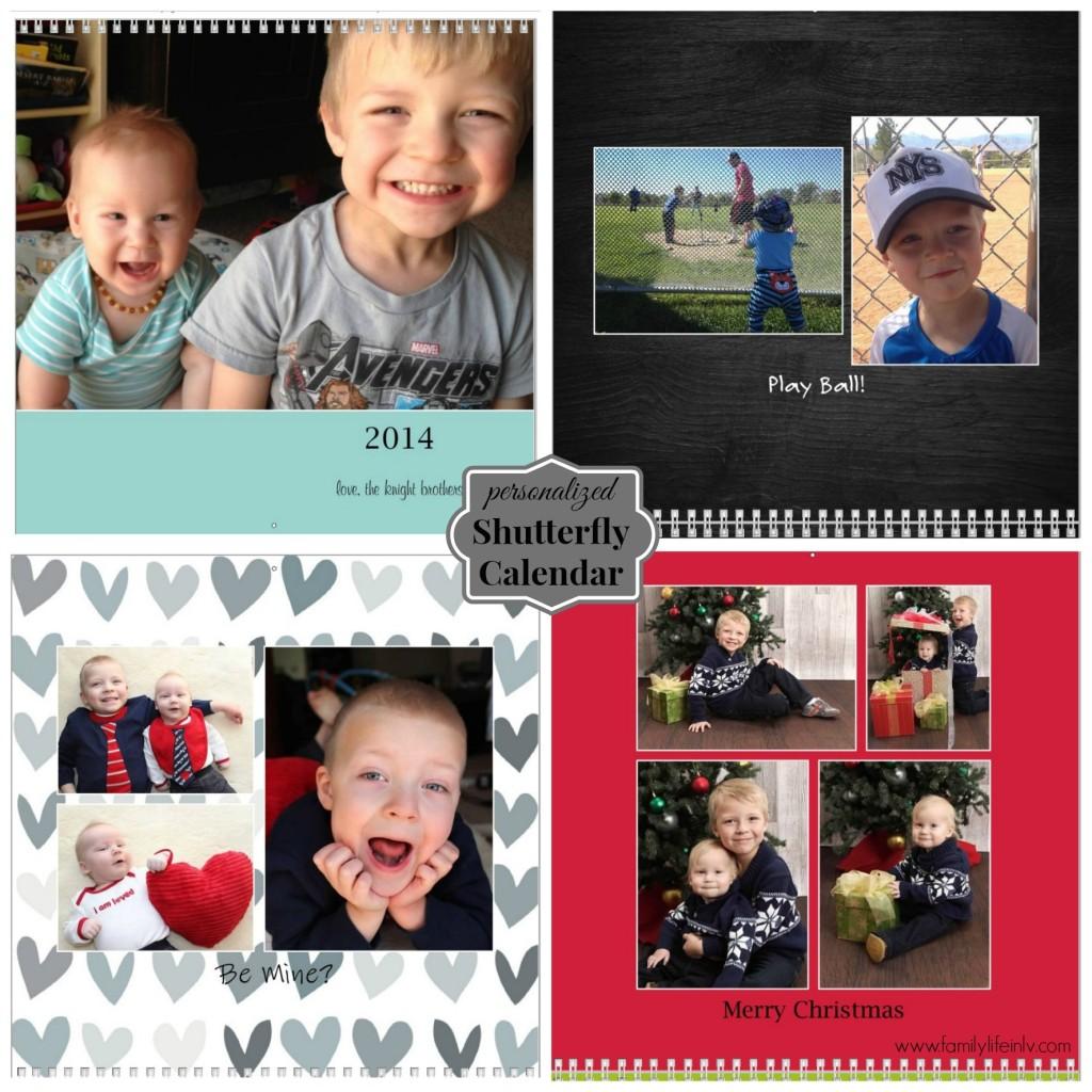 """Personalized Photo Calendar"" ""Shutterfly Calendar"" ""Shutterfly"""