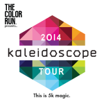 The Color Run 5k 2014 Kaleidoscope Tour | Coming to Las Vegas February 22, 2014