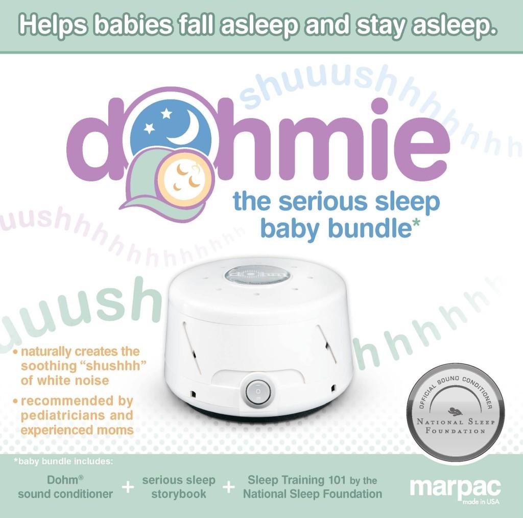 """Sleep Machine"" ""White Noise"" ""Dohmie by Marpac"" ""Sound Machine"" ""Baby"""